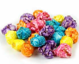 colorful popcorn rainbow assorted coated popcorn gourmet assorted