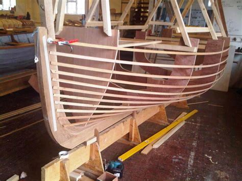 house boat builders wooden lobster boat builders in maine sailing build plan
