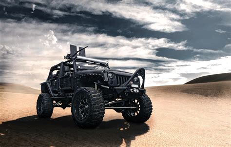 jeep screensaver wallpapers jeep wrangler front black desert jeep