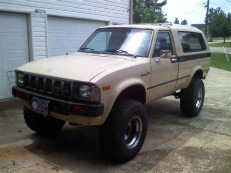 1982 Toyota 4runner Toyota 4x4 1982 Reviews Prices Ratings With Various Photos