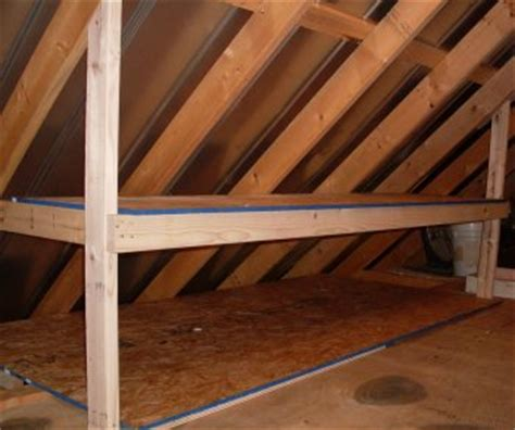 Kid Room Ideas For Small Spaces - unfinished attic storage ideas how to add storage to an unfinished attic