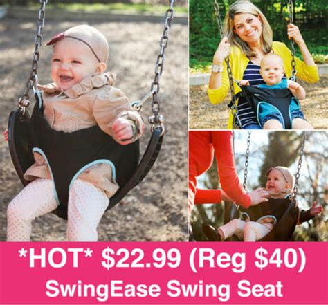 free swinging websites hot 22 99 reg 40 swingease portable swing seat