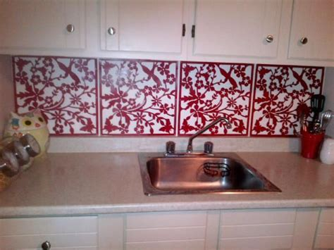 removable kitchen backsplash rental rehab 13 removable kitchen backsplash ideas places the o jays and kitchen backsplash