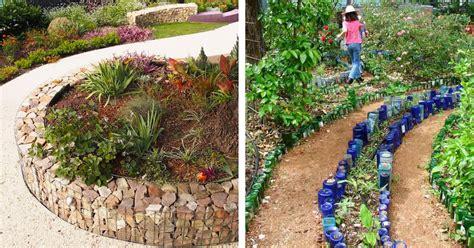 Creative Garden Edging Ideas Creative Garden Edging Ideas 9 Creative Garden Edging