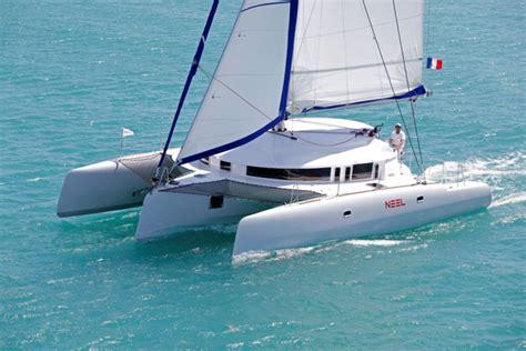 trimaran review boat review neel 45 trimaran boats