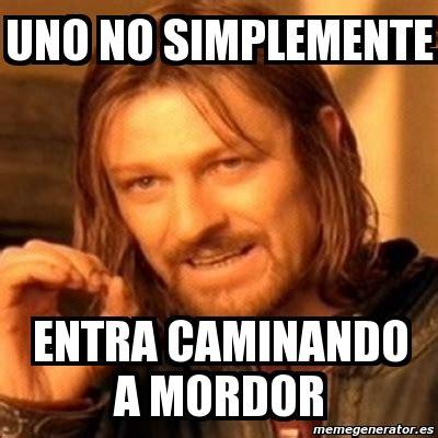 Meme Generator Boromir - meme boromir uno no simplemente entra caminando a mordor