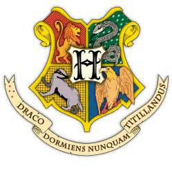 hogwarts symbol colouring pages