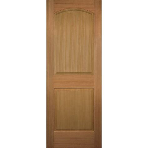 Hemlock Interior Doors Builder S Choice 30 In X 80 In 2 Panel Square Top Solid Hemlock Single Prehung Interior