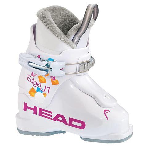 Boot White J1 Ski Boots Edge J1 Junior Ski Boots