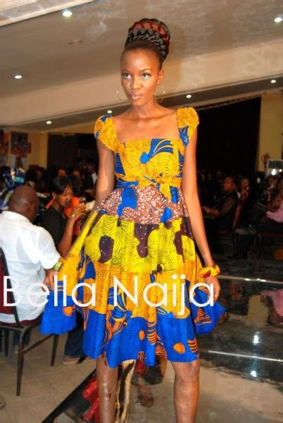 bella naija ankara styles in nigeria ituen basi presents ankara beads bellanaija