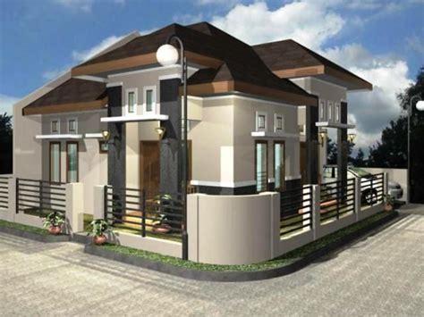 desain depan rumah tusuk sate 90 desain rumah pintu depan menghadap sing