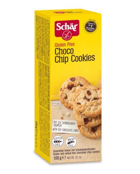 Schar Gluten Free Biscuit Sorrisi schar gluten free choco chips cookies 100gr