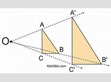 Dilation - MathBitsNotebook(Geo - CCSS Math) Dilatation Meaning