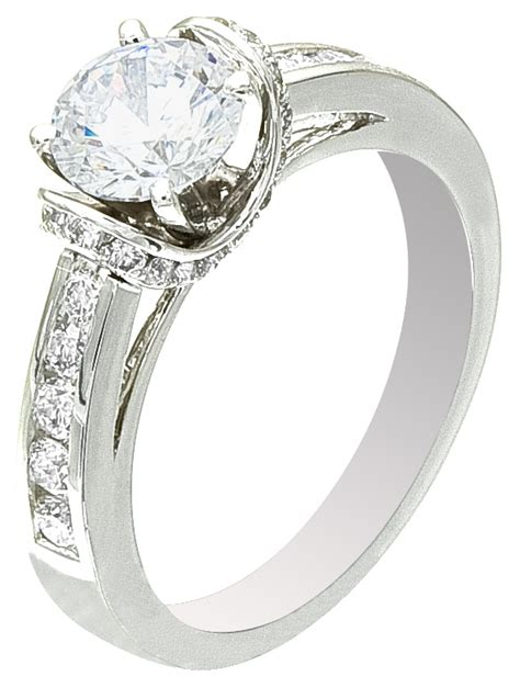 discount white gold ring for