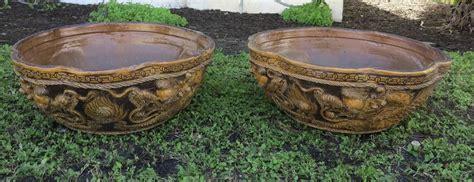 Terracotta Planters For Sale Antique Terracotta Planters Raised Dragons Design