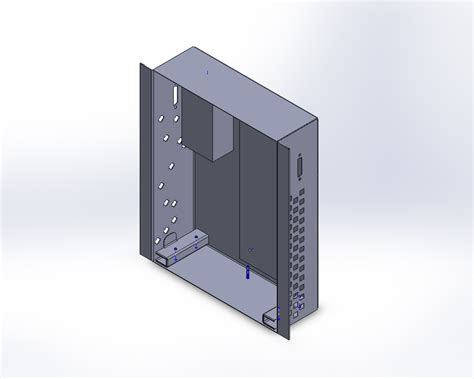 sheet metal box my solidworks models