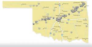 Route 66 Oklahoma Map by 1000 Images About Route 66 On Pinterest