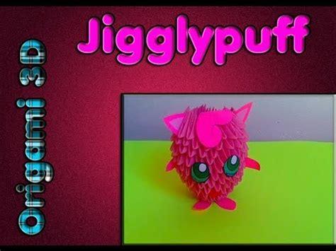 Origami Jigglypuff - rosa jigglypuff origami 3d ポケモン チュートリアル