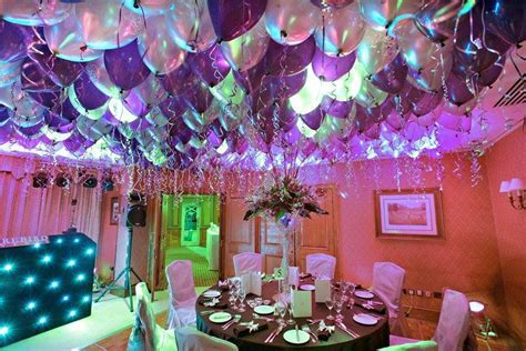 Balloon Ceiling Decorations