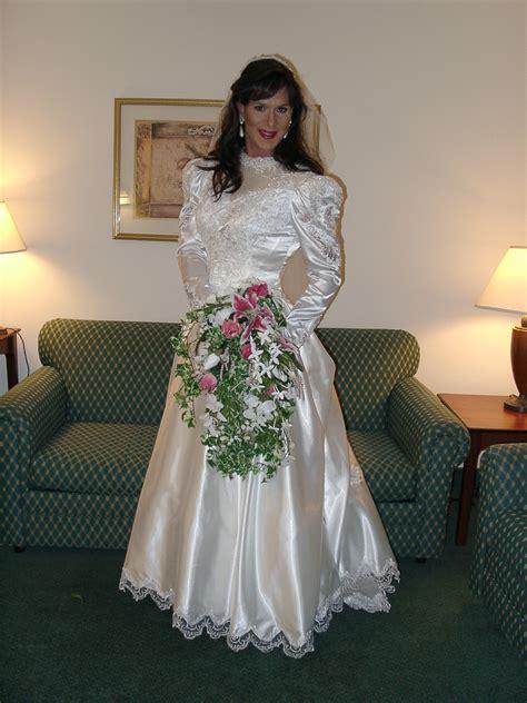 video crossdresser being fitted wedding gown bridal gown 1 bridal gowns gowns and crossdressers