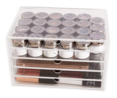 muji clear acrylic drawers muji 5 drawer acrylic drawers for makeup organization