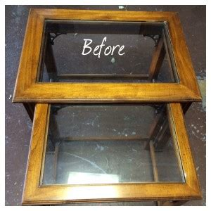 chalk paint glass table chalk paint tables of stain glass