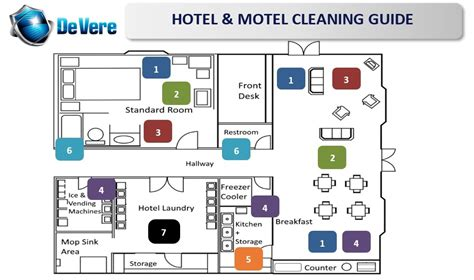 layout of housekeeping in large hotel store layout cleaners devere company inc