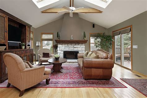 Living Room Ceiling L Decoration Magnificent Vaulted Ceiling Living Room