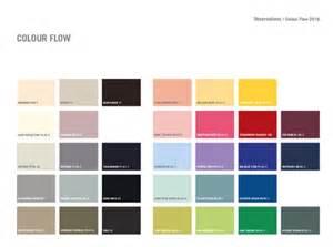 colour flow charts from our plascon colour forecast 2016