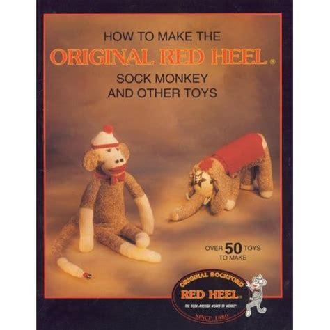 sock animal pattern book original rockford heel sock monkey other toys pattern book