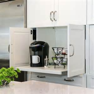 kitchen appliance storage ideas creative appliances storage ideas best home design ideas