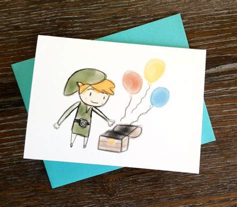 Link Birthday Card 1000 Images About Zelda Birthday On Pinterest Favor