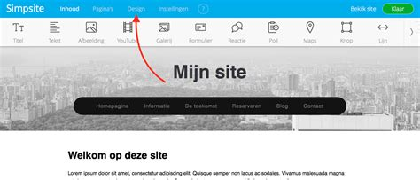 layout artikel nederlands simpsite help eigen layout maken