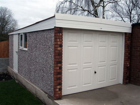 garage roofs flat roof concrete garages range birmingham west