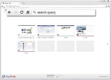 Search The Web Right From The Address Bar Playfree Browser