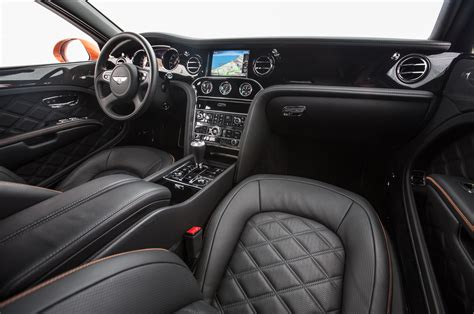 bentley mulsanne black interior 2015 bentley mulsanne speed first test motor trend