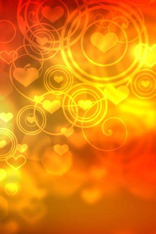 Gift wrapper, Stay gold and Abstract on Pinterest Yellow Hearts Wallpaper
