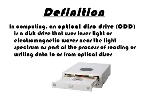 drive meaning optical drive
