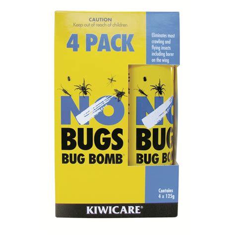 bug bomb for bed bugs kiwicare no bugs bug bomb 4pk bunnings warehouse