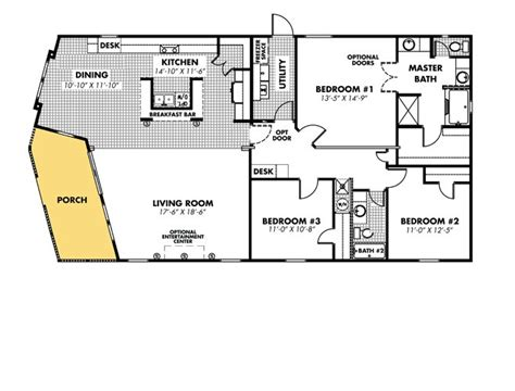 heritage homes floor plans heritage 3264 32ap by legacy mobile home sales