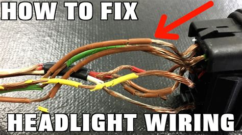 replace headlight wiring humble mechanic