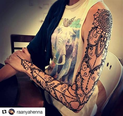 henna tattoo sleeve best 25 henna sleeve ideas on henna