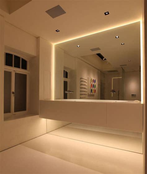 strip lighting for bathrooms best 25 bathroom lighting ideas on pinterest bathroom