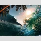 Waves Sea Ocean...