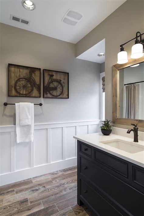custom wainscoting bathroom picture ideas navy washstand country bathroom benjamin moore old