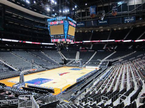 phillips arena ga floor ga1 61 philips arena atlanta ga scolin s sports venues