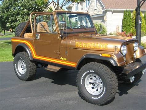 1985 Jeep Renegade Find Used 1985 Jeep Cj7 Renegade Sport Utility 2 Door 4 2l