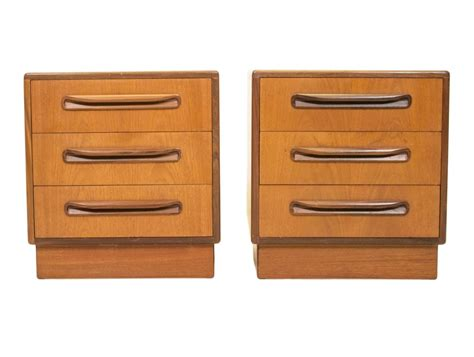 Chest Of Drawers Set by Set Of 2 Fresco Chest Of Drawers From The Fifties By
