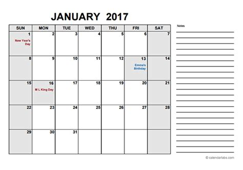 free calendar template 2017 free calendar pdf free printable templates