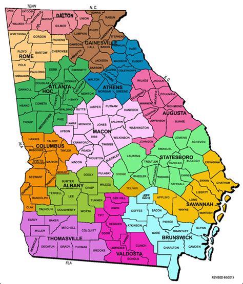 map of georgia counties map of counties plus map map of atlanta ga county map afputra com